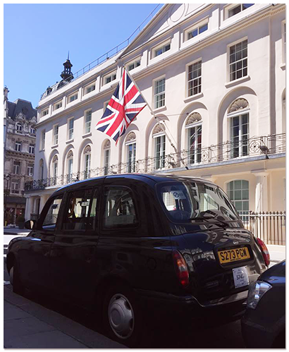 Potted History Tours Black Cab