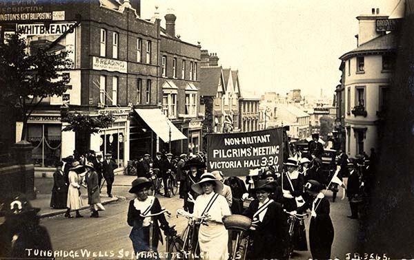 The Suffragettes in Tunbridge Wells